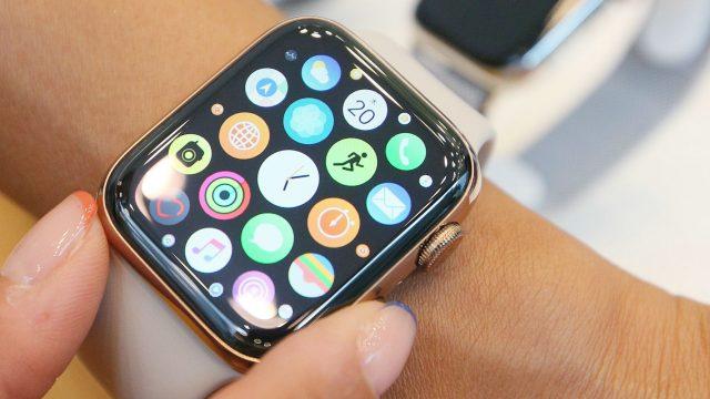 Die neue Apple Watch Series 4.
