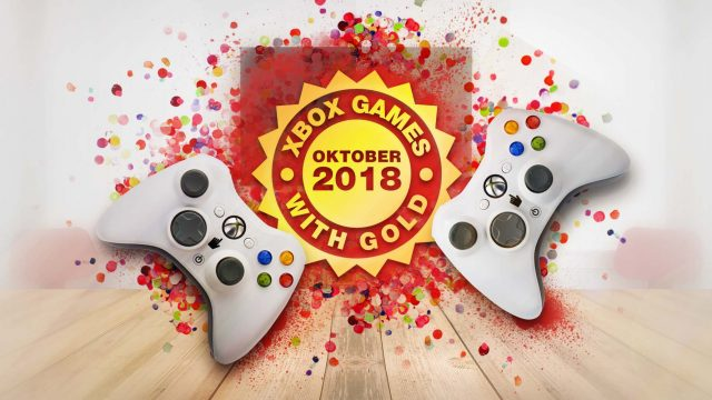Xbox Games with Gold Oktober 2018