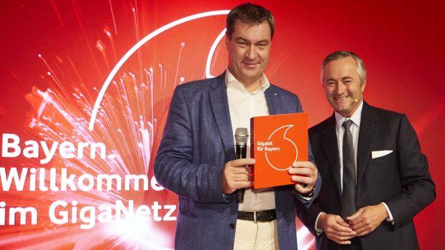 Vodafone Gigabit Bayern