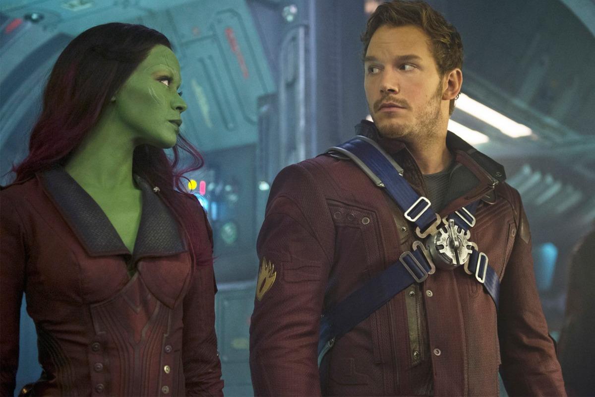 Gamora und Starlord (MCU Phase 4)