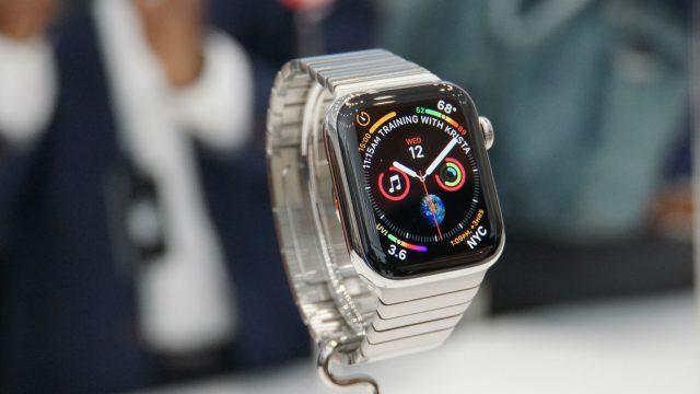 Die neue Apple Watch wird präsentiert.