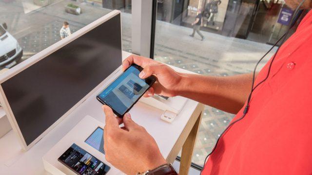 Lass Dich per Videoanruf im Vodafone-Shop beraten