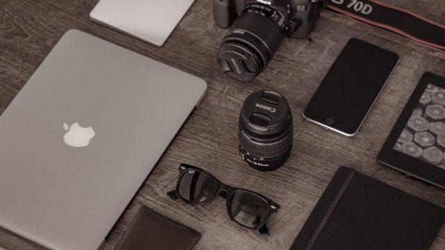 ipad, iphone und kamera