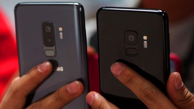 Das Samsung Galaxy S9+ und S9.