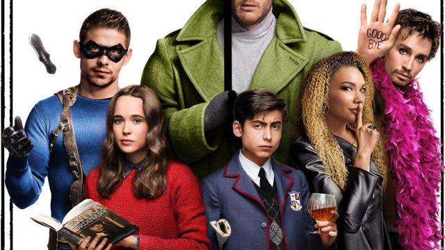 Das Bild zeigt den Cast von The Umbrella Academy. | © Netflix
