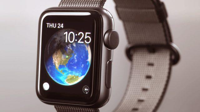 Apple Watch Zifferblätter ordnen