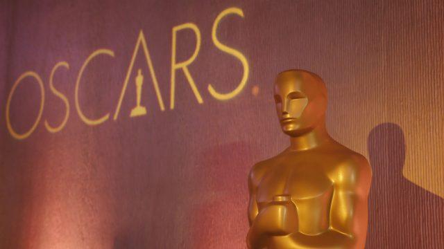 Goldene Oscar-Statue.