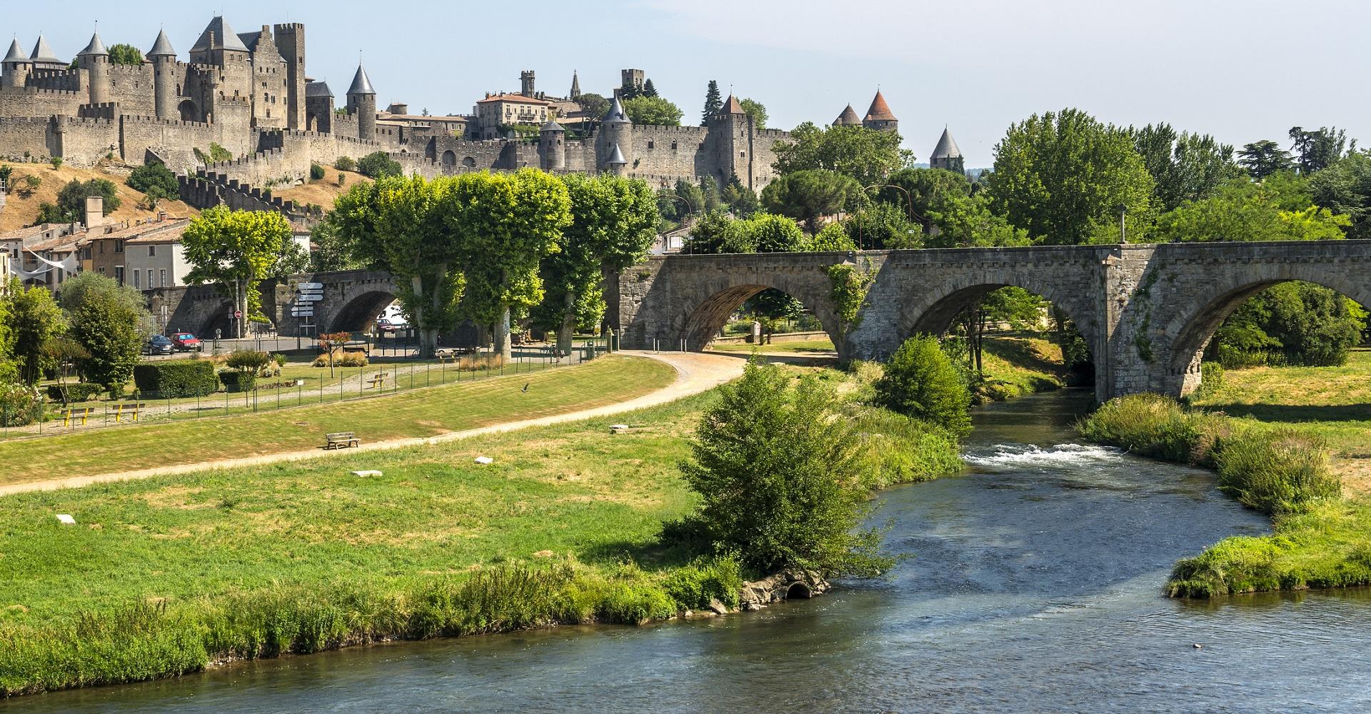Carcassonne in Frankreich