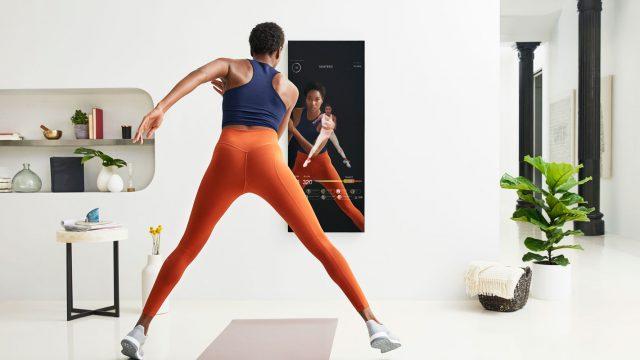 Mirror von Curioser Products: Smarter Trainings-Spiegel für zuhause