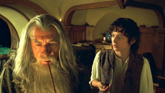 Gandalf und Frodo