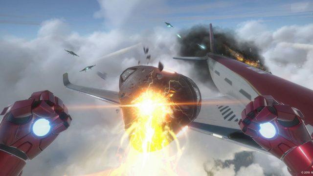 Screenshot von Iron Man VR Gameplay