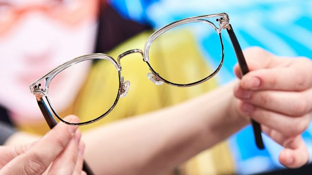 Präsentation der Huawei Smart Eyewear.