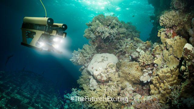 Roboter sucht nach der Medizin der Zukunft in unseren Ozeanen