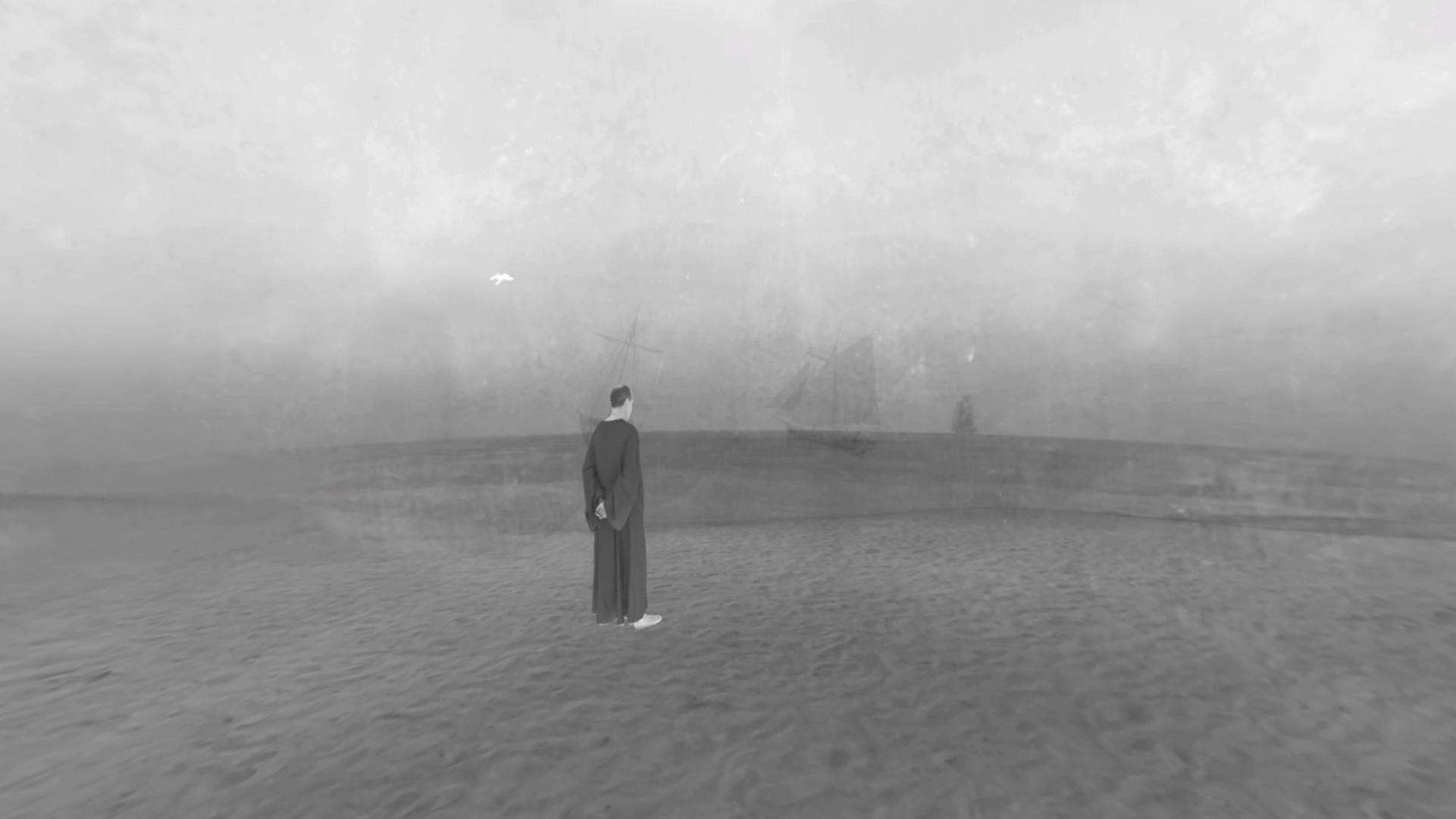 Mit dem Mönch am Meer: Virtual Reality im Museum