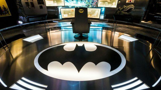 Ausstellung über Batman.