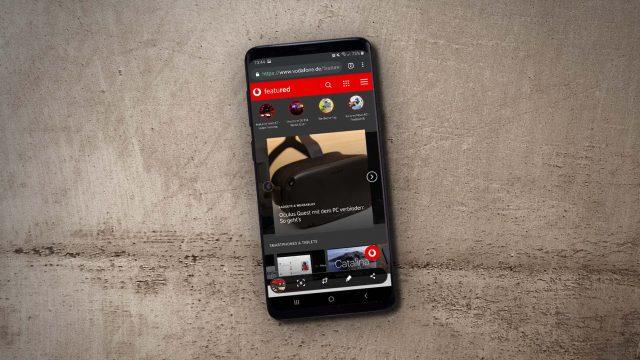 Am Samsung Galaxy S9+ wurde ein Screenshot gemacht.