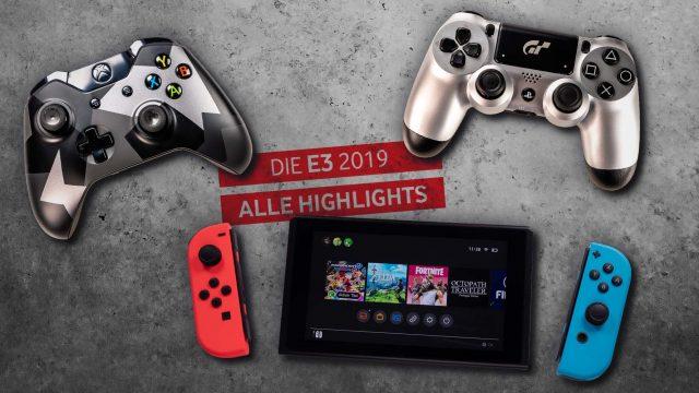 PS4-, Nintendo-Switch- und Xbox-One-Controller.