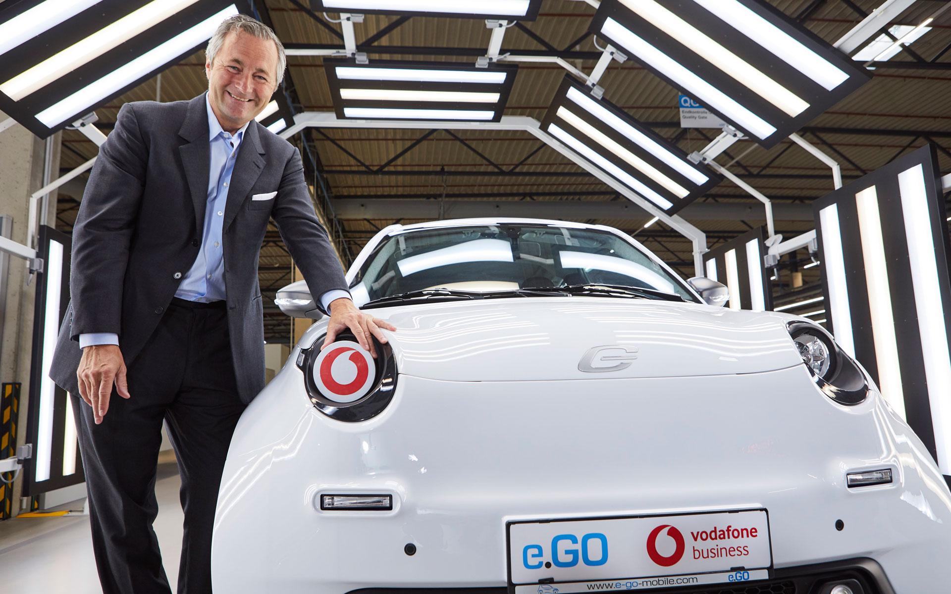 Vodafone bringt 5G-Technologie in die Auto-Produktion
