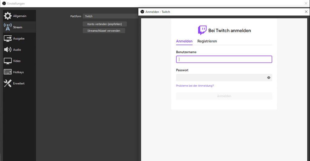 OBS Studio: Twitch, YouTube und Co.