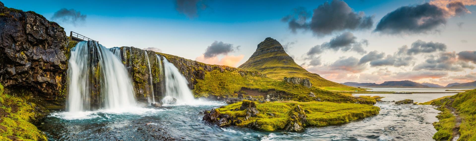 Der Kirkjufell auf Island