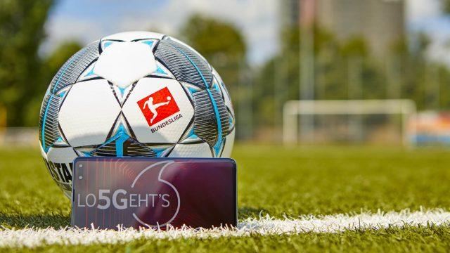 DFL und Vodafone bringen 5G in die Bundesliga