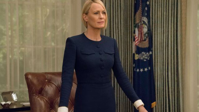"""Robin Wright in der Netflix-Thrillerserie """"House of Cards""""."""