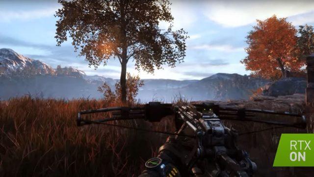 Screenshot aus dem Raytracing-Videospiel Metro Exodus