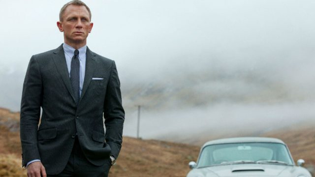 "Szenenbild mit Daniel Craig als 007 in ""James Bond: Skyfall""."