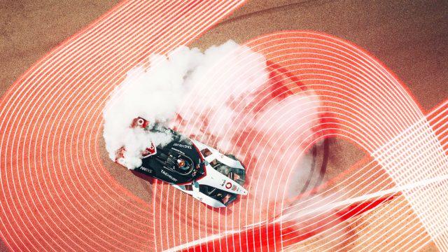 Rennwagen bei Formula E