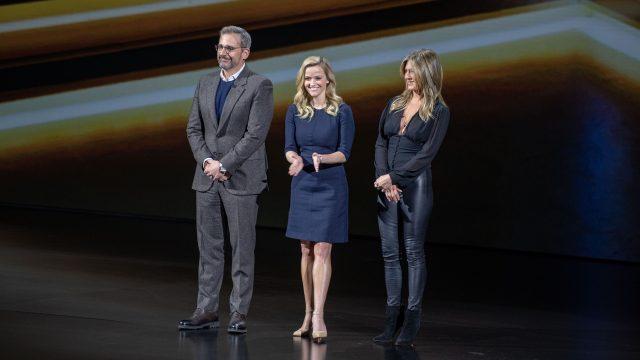 Steve Carrell, Jennifer Aniston und Reese Witherspoon