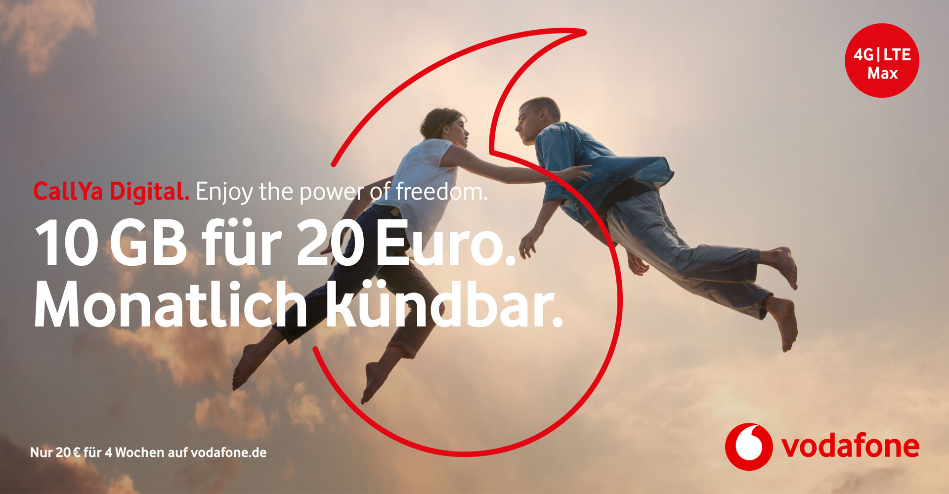 CallYa Digital-Tarif: Enjoy the power of freedom
