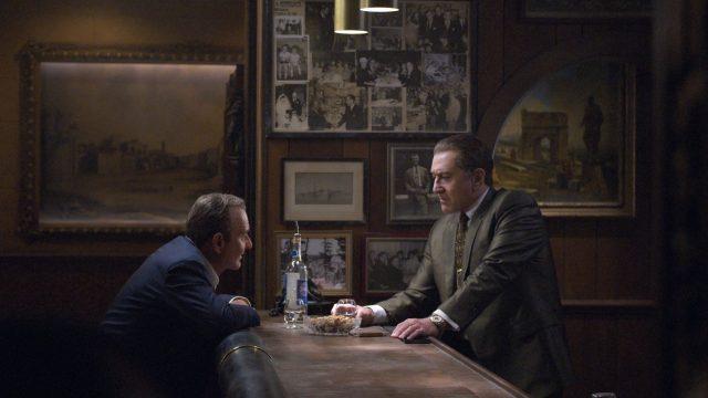 "Szenenbild aus dem Netflix-Film ""The Irishman""."
