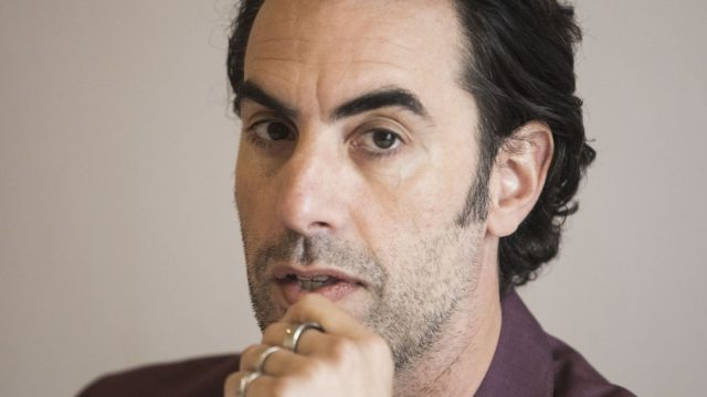 """Sacha Baron Cohen auf Tour für """"The Spy""""."""