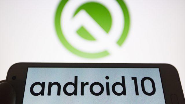 Ein Google Pixel mit Android 10