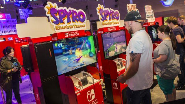 Spyro Reignited Trilogy mit der Nintendo Switch zocken.