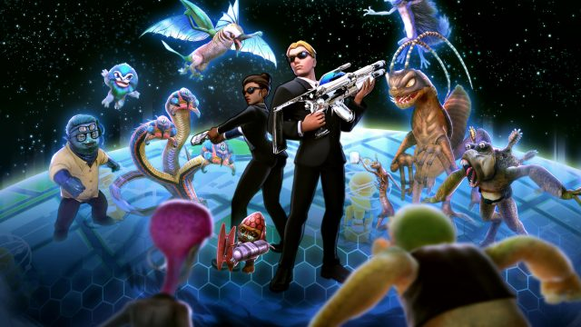 Kämpfe in Men in Black Global Invasion gegen Aliens. Bild: Ludare Games Group