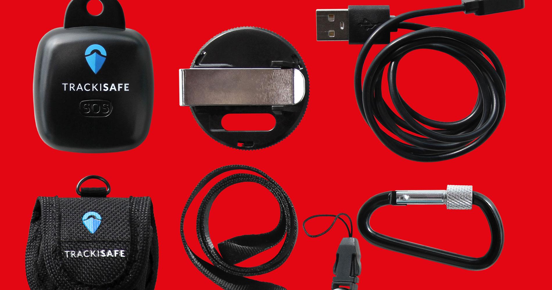 V-Multi Tracker Zubehör: Taschen, Clips, Bändern und Haken