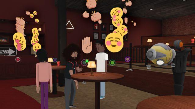 Avatare treffen sich in Altspace VR