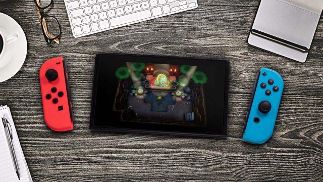 An der Nintendo Switch in The Legend of Zelda: Link's Awakening den Krötenrap lernen.