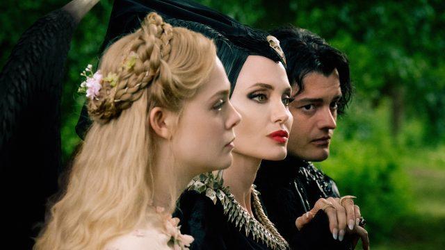 Sam Riley als Diaval mit Maleficent