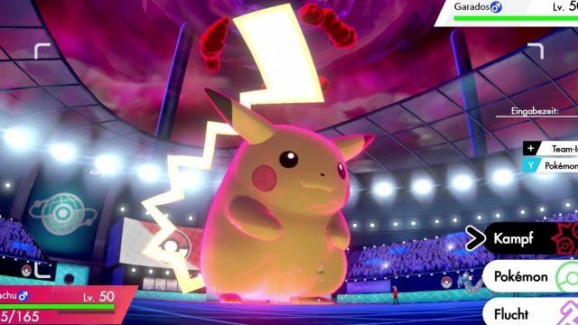 Pokémon Schwert und Schild: Gigadynamax-Pikachu und -Evoli erhalten