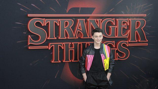 "Noah Schnapp bei der Premiere der dritten Staffel der Netflix-Serie ""Stranger Things""."