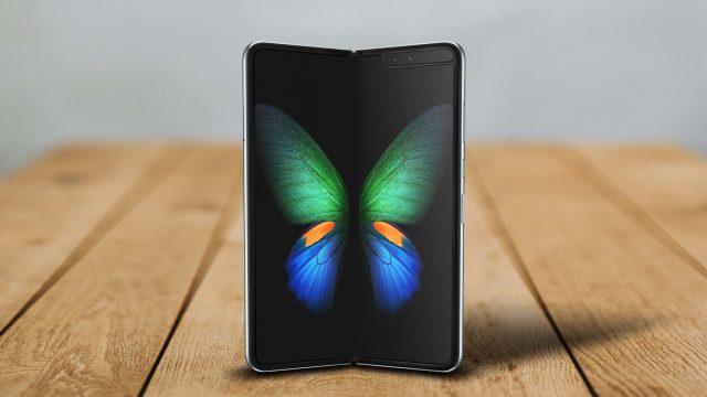 Das faltbare Smartphone Samsung Galaxy Fold