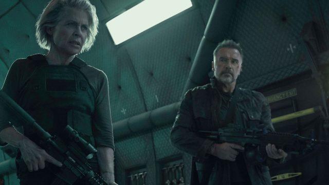 Terminator 6: Arnold Schwarzenegger als Terminator und Linda Hamilton als Sarah Connor