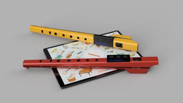 The Recorder reinvented: Blockflöte der Zukunft in Rot und Geld