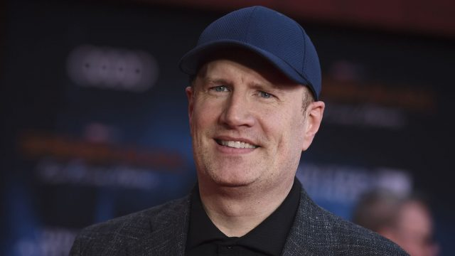 "Marvel-Studios-Chef Kevin Feige bei der Premiere von ""Spider-Man: Far From Home""."