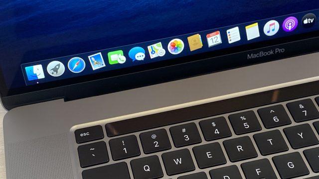MacBook Pro 16Zoll 2019