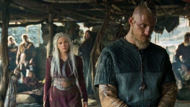 "Szenenbild aus der HISTORY-Serie ""Vikings""."