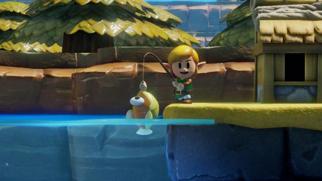 Legehd of Zelda Link's awakening Screenshot