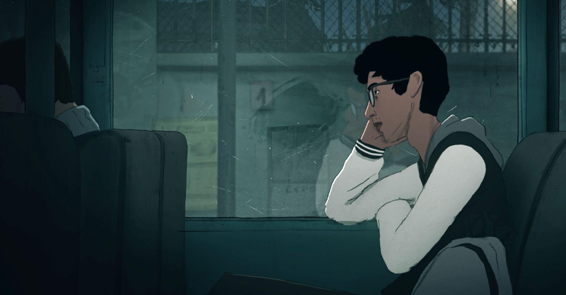 """Szene aus dem Netflix-Animationsfilm """"Ich habe meinen Körper verloren""""."""
